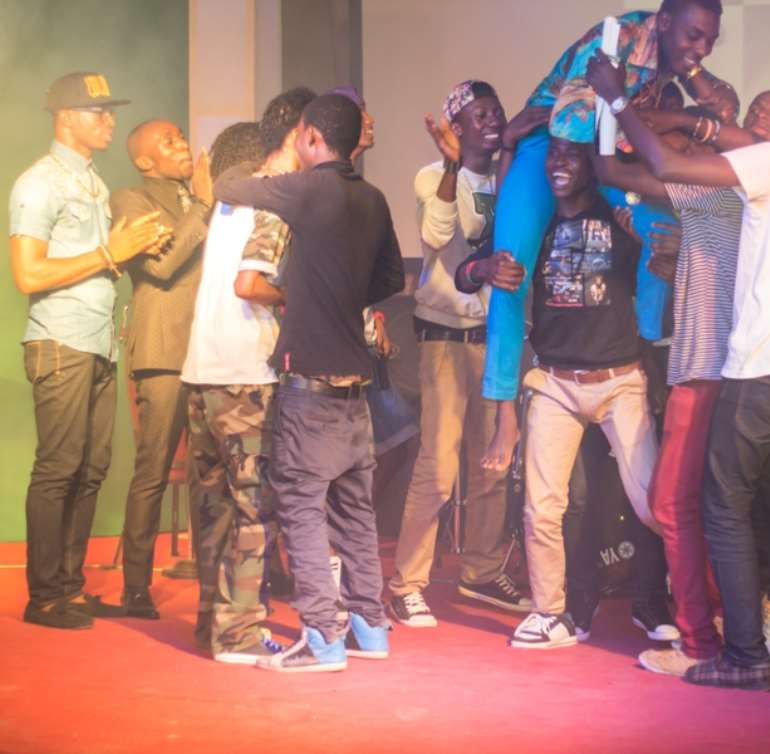 Olamide Thrills At Koga One Night Stand… As Zayo Emerges Winner Of