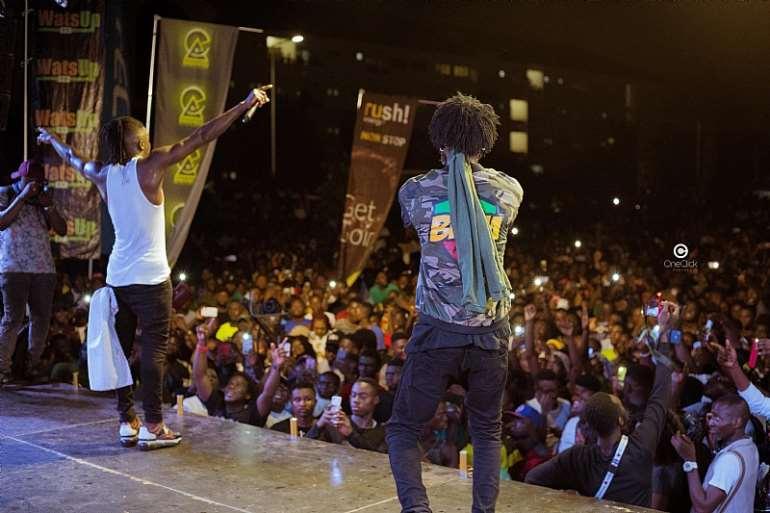 Total Shutdown! Stonebwoy Electrifies WatsUp TV Legon SRC Concert
