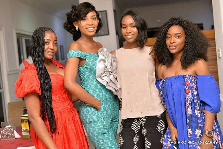Former Miss Common Wealth Africa Celebrated Her Birthday In Style In Abuja