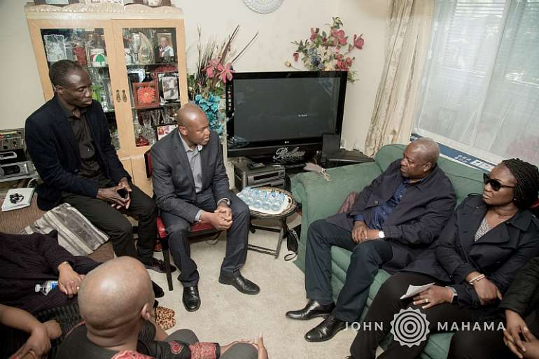 Jm Visit To The Family Of The Late Louisa Nelson
