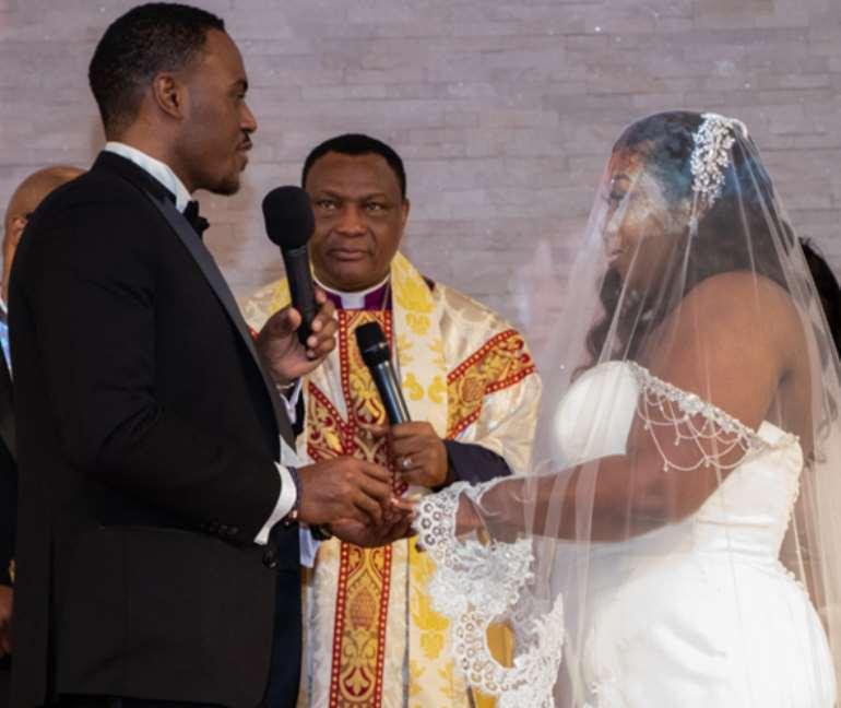 Bishop Dominic Allotey Daughter's Sandra Weds Dalton Richards