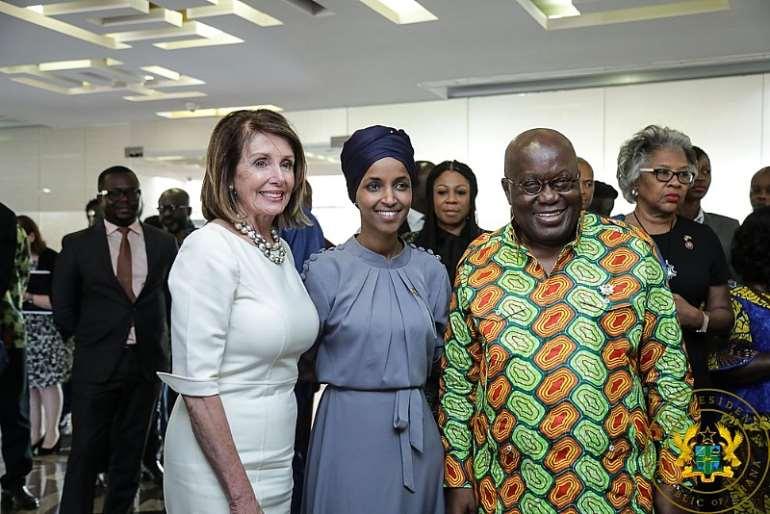Visit To Jubilee House By Nancy Pelosi; Congressional Black Cau