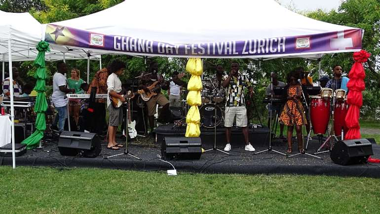 Ghana Day Festival Zurich Switzerland 06.07.2019
