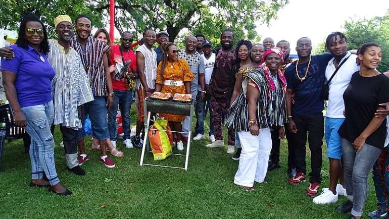 Ghana Day Festival Zurich Switzerland 06.07.2019