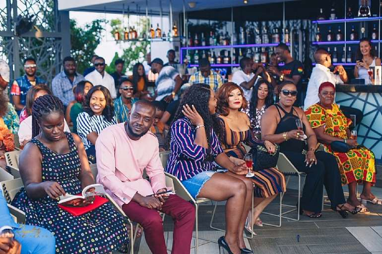 Juliet Ibrahim's Accra Book Reading Soirée