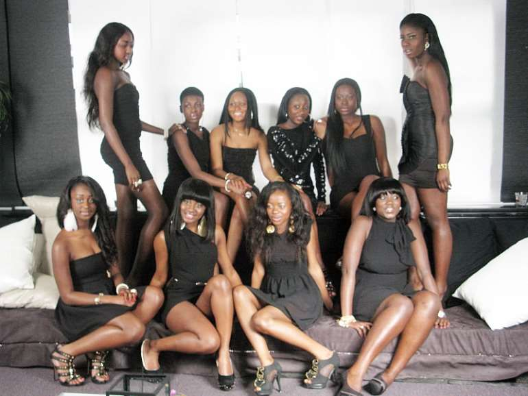 FACE OF GHANA HOLLAND 2011 BEAUTY PAGEANT LAUNCHING