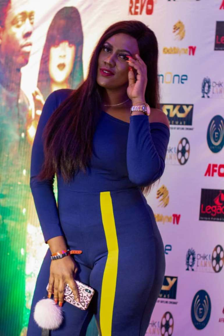 Ramsey Nouah  and Other Celebrities Attend The Millions Movie Premiere