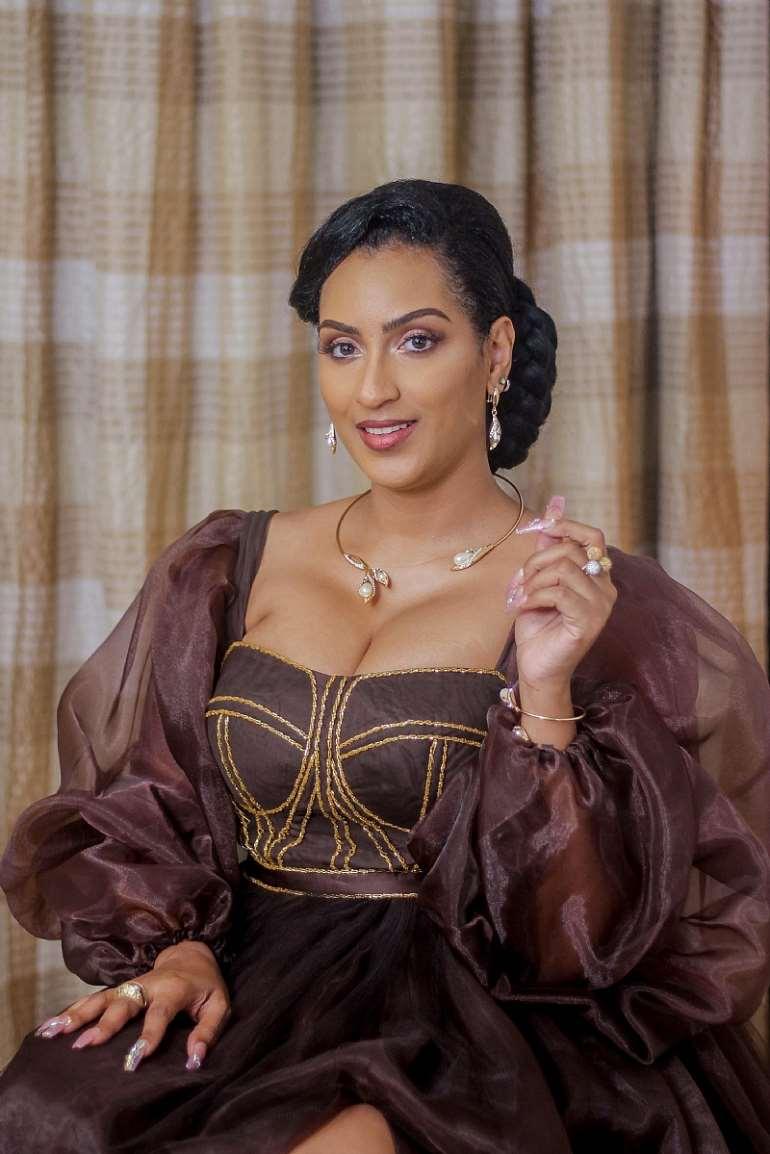 Juliet Ibrahim at Her