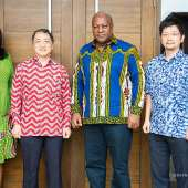 Japanese envoy calls on John Mahama