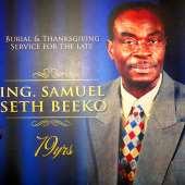 Ing. Samuel Seth Beeko Laid To Rest As Beeko Family Celebrates His Life