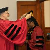 Ghana's First Lady Honoured With Doctorate Degree For Humanitarian Services