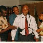 Eric Nwadinobi on location in Nigeria