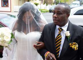 Bishop Dominic Allotey Daughter's Sandra Weds Dalton Richards
