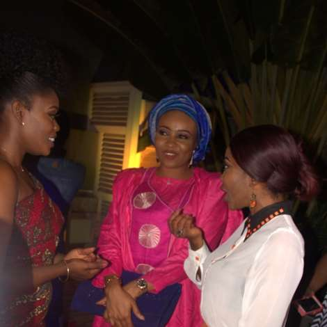 Bisola,doris Simeon & Jumoke Aderounmu