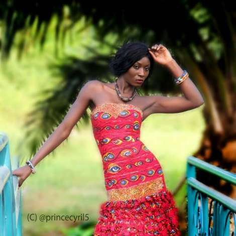 Mary Timms Dazzles In Creative African Photos