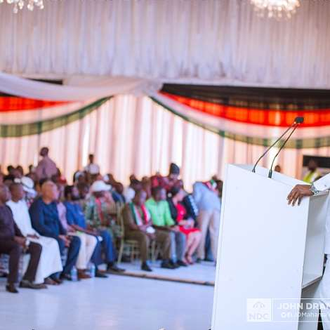 Launch Of Ndc E-Payment Platforms For Fund Raising
