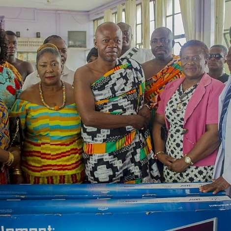 Asanteman Association Of Denver Colorado Adopts And Commission A3 Ward In The Okomfo Anokye Hospital, Kumasi