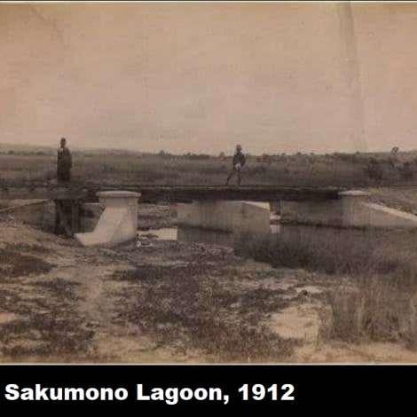 Sakumono Lagoon, 1912