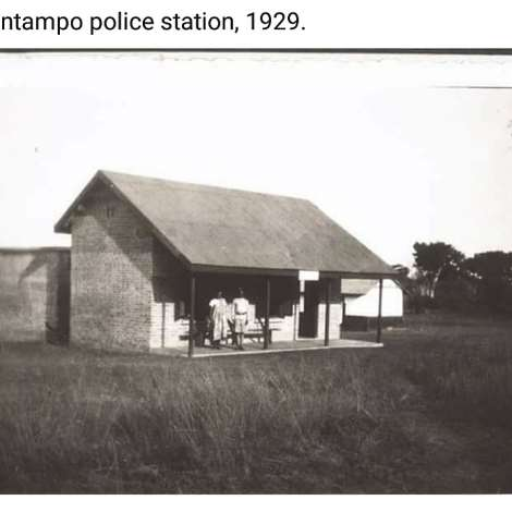 Kintampo police station, 1929