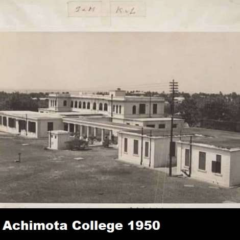 Achimota College 1950