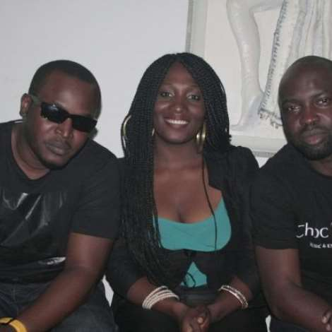 ELDEE, AUDU MAIKORI AND GUEST