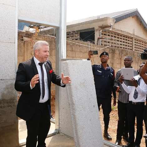 Gov't Partners Solin For Affordable Housing Using Polystyrene Concrete Technology