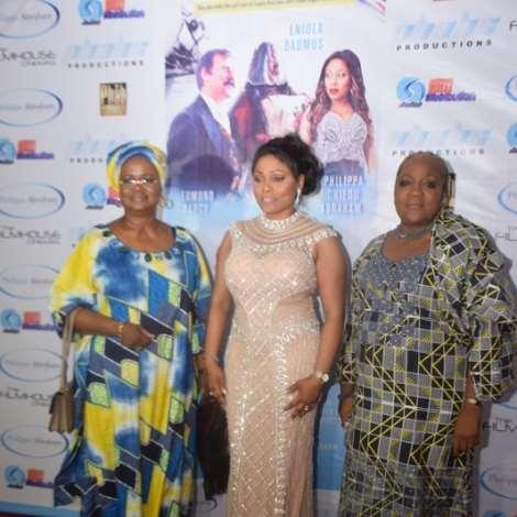 Eniola Badmus, Philippa Chiedu Abraham, Malcom Benson, And Moreattends 'basira In London' Movie Premiere