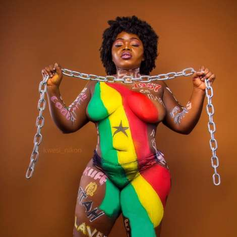 Songstress Queen Haizel Pictures Ahead Independence Celebration Day