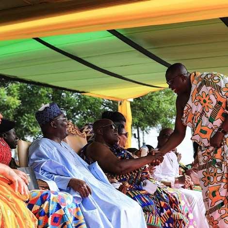 Pictures: Otumfuo Osei Tutu II @ 20 Anniversary Celebration