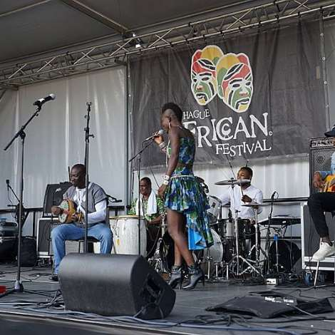 Wiyaala Thrills Patrons At The Hague African Festival In Netherlands