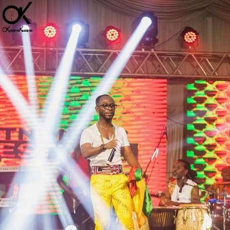 Okyeame Kwame's spectacular performance at the MTN Music Festival