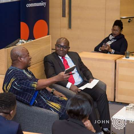 John Mahama Delivers The Distinguished Speaker Seminar At The Oxford University