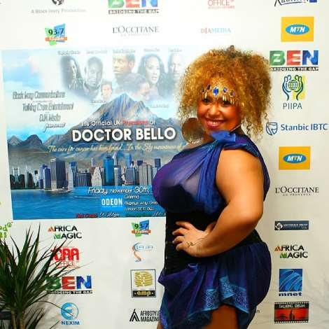 MISS-K ATTENDING DOCTOR BELLO MOVIE PREMIERE
