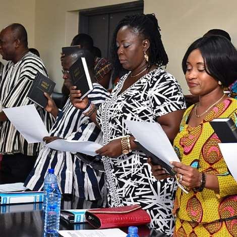 Inauguration Of The Nhia Board