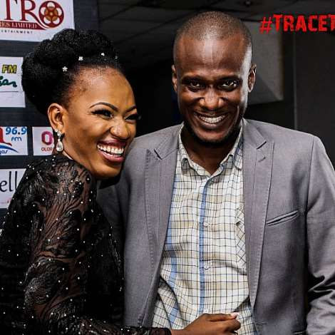 Yvonne Enakhena And Olu Alvin