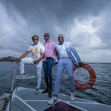 Kelechi Amadi Obi, Ameyaw Debrah And Mai Atafo At The Wilson Wharf 3
