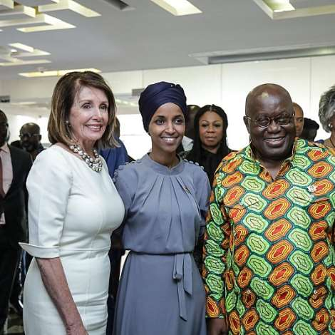 Visit To Jubilee House By Nancy Pelosi; Congressional Black Cau