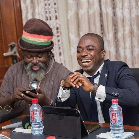 Musiga Pays Courtesy Call On Zylofon Media