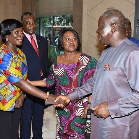 Otumfuo Osei Tutu II arrives in New York to deliver a keynote address