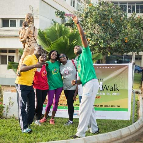 Health Walk Opens 2019 Childhood Cancer Awareness Month