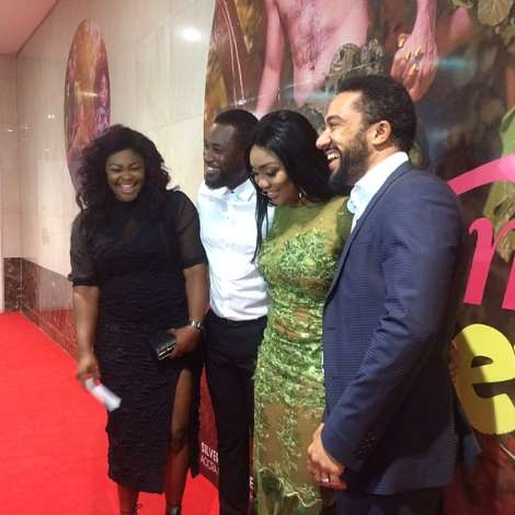 """Movie Premiere: """"adam The Eve"""" Shakes Silverbird Cinemas With Massive Turn Out"""