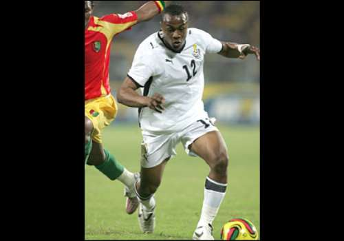 Andre 'Dede' Ayew - son of Ghana legend Abedi 'Pele' Ayew - came off the bench and almost scored with his first touch
