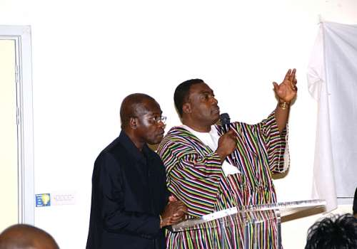 NDCUK CHAIR NII ANKRAH & H.E D-BOAFO  ON VICTORY VISION