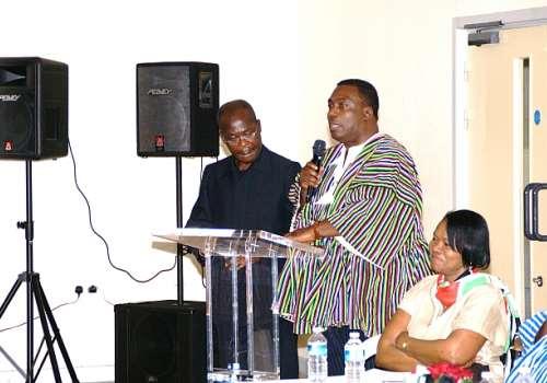 NDCUK HE D-BOAFO & NII ANKRAH LAUNCHING VIC 2012