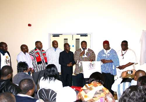 NDCUK HE D-BOAFO & OTHERS LAUNCHING VIC 2012