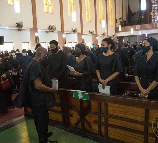 Catholic Requiem Mass for late President Jerry John Rawlings