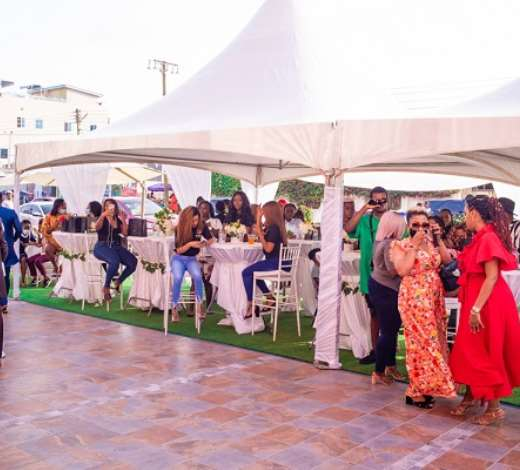 Celebrities attend launch of Wanneka Luxury Hair branch in Ghana