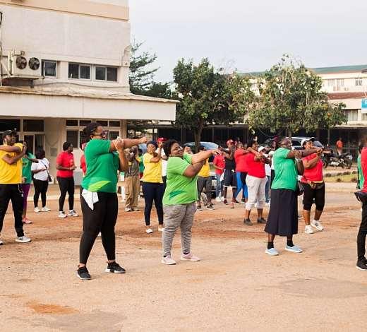 Health Walk Opens 2019 Childhood Cancer Awareness Month