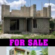 Uncompleted 4 bedrooms house for sale