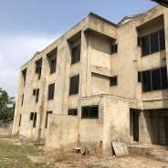 Uncompleted 18 bedrooms hotel building for sale